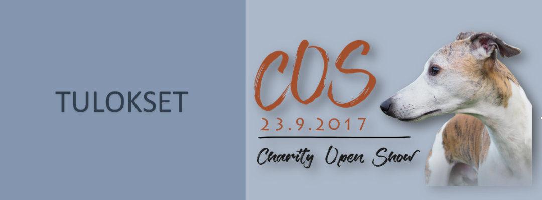 Charity Open Show 23.9.2017 tulokset