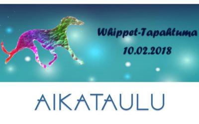 Whippet-Tapahtuma 10.02.1018