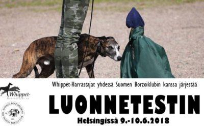 Luonnetesti 9.-10.6.2018