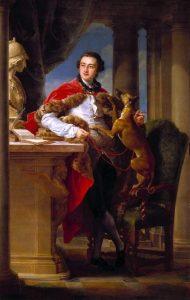 Charles Compton, 7th earl of Northampton, (Pompeo Batoni 1708-1787)
